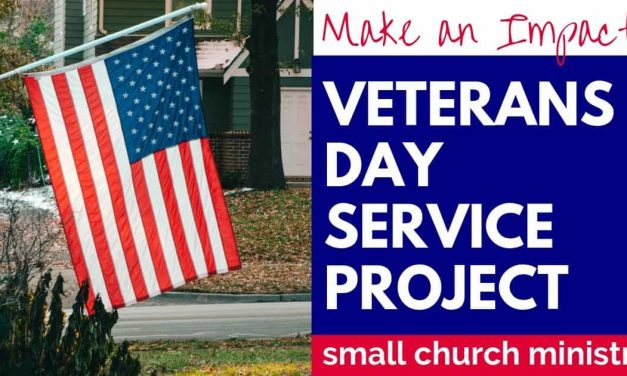 VETERANS DAY SERVICE PROJECT IDEA